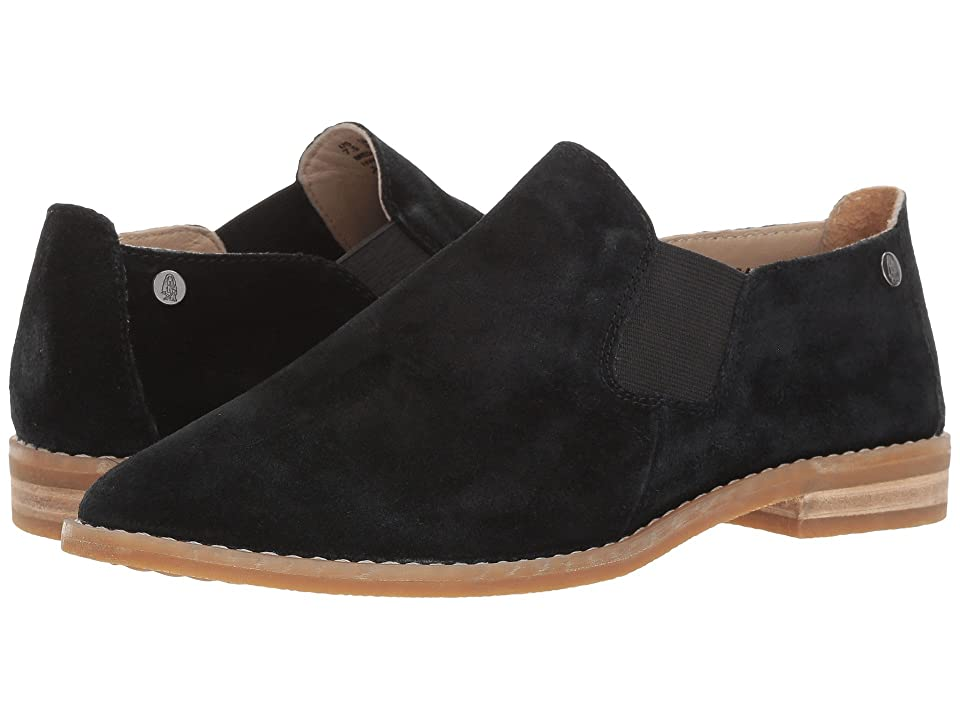 Hush Puppies Analise Clever (Black Suede) Women's Slip-on Dress Shoes