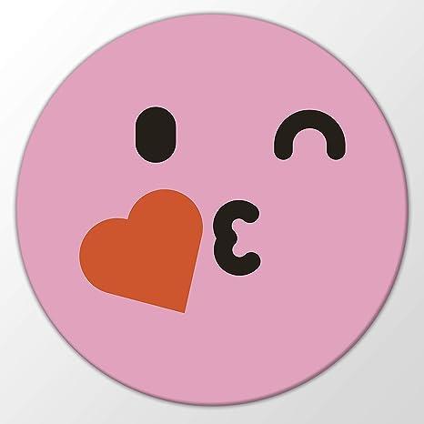 Kuss smiley mit herz Whatsapp smileys