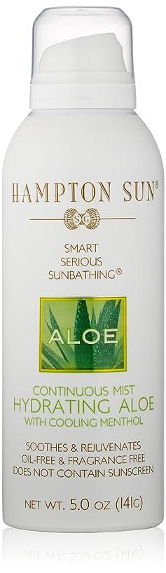 どうやら膨張する体操Hampton Sun - Hydrating Aloe Continuous Mist (5.0 oz.)