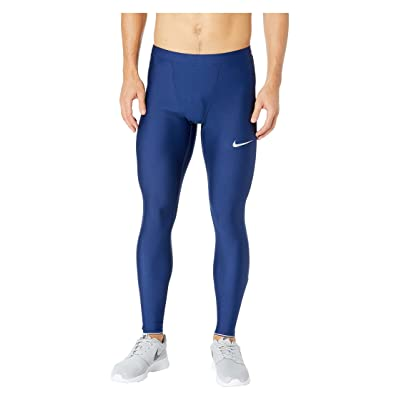 Nike Run Mobility Tights (Blue Void/Reflective Silver) Men