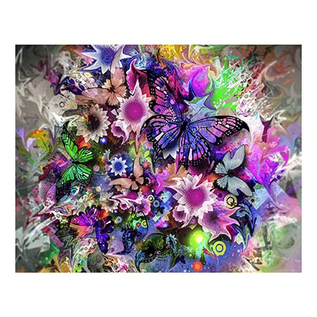 eZAKKA DIY 5D Diamond Painting by Number Kits, 10x8 Inches Flower Diamond Art Kits Crystal Rhinestone Embroidery Pictures Full Square Drill for Adults Home Wall Decor