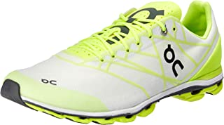 On Running Men's Cloudflash Speed Shoe Neon/White