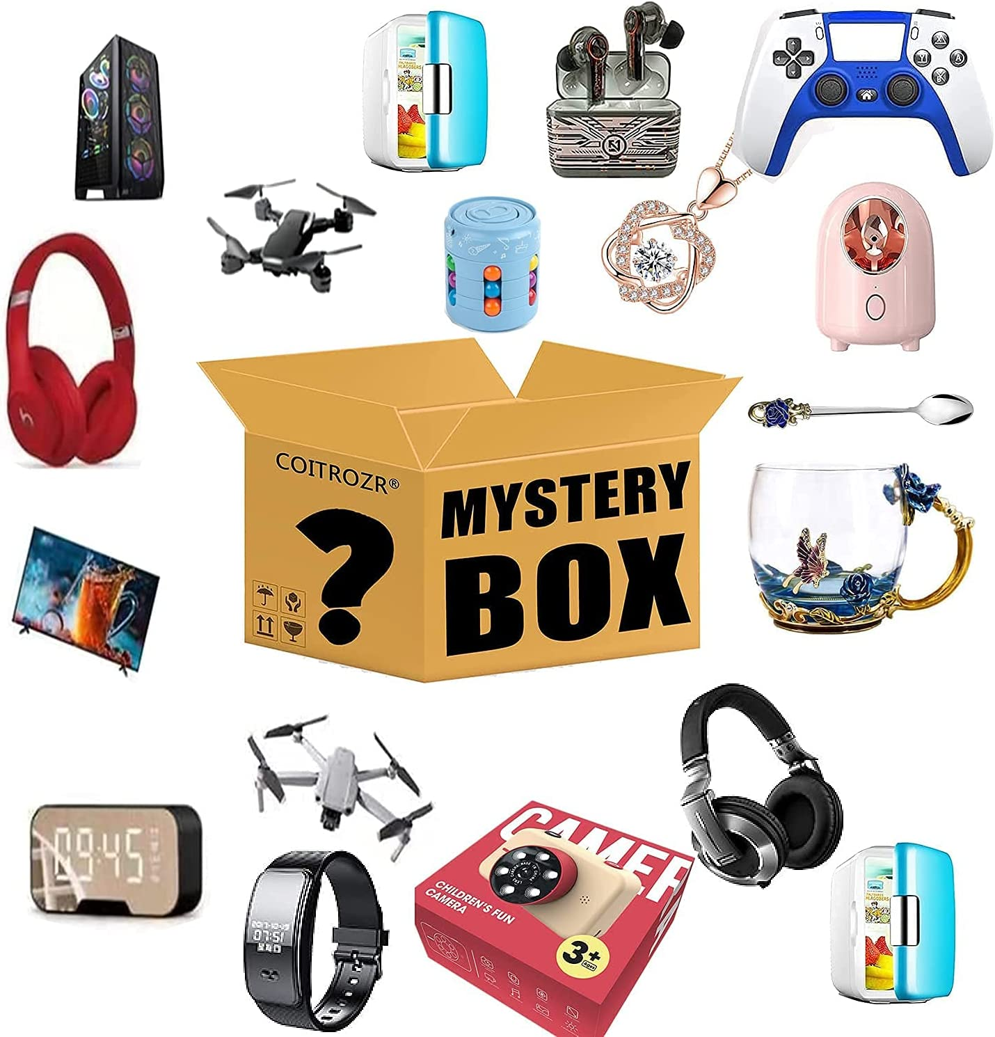 Mystery Box Birthday Surprise For Choice Lucky 2021 model Adults