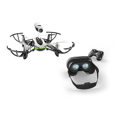 Parrot - MiniDrone Quadricoptère Mambo FPV - Noir/Blanc