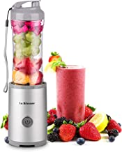 Portable Blender Cordless Single Serve Perosnal Size for Smoothie and Shakes, Battery Rechargeable, Juicer Cup Mixing Machine 10oz,BPA-Free,Grey