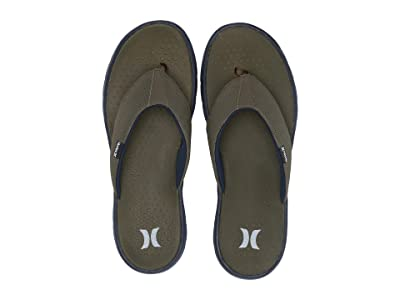 Hurley Flex 2.0 Sandal (Olive Canvas) Men