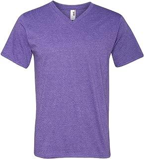 100% Ring Spun Cotton V-Neck T-Shirt