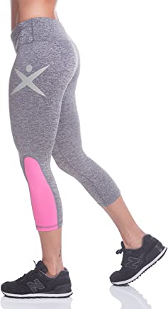 740c0f7b0513b FITXATION Bottom Gray   Pink Women s Workout Leggings