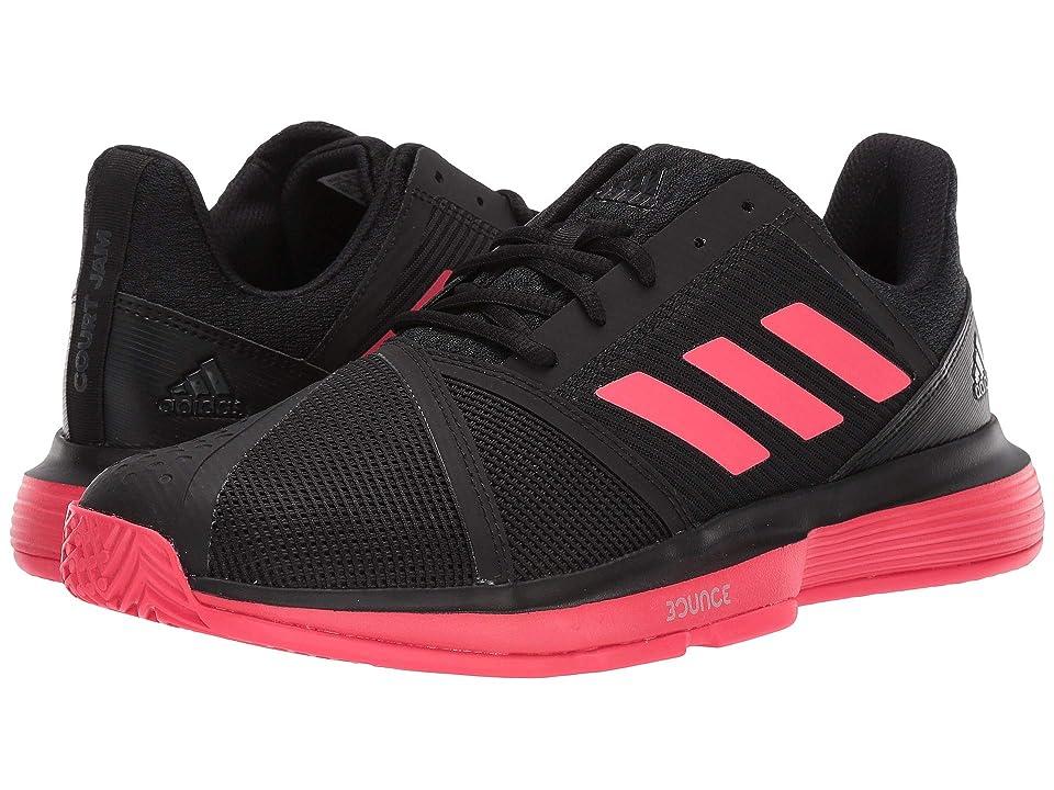 adidas CourtJam Bounce (Core Black/Shock Red/Footwear White) Men