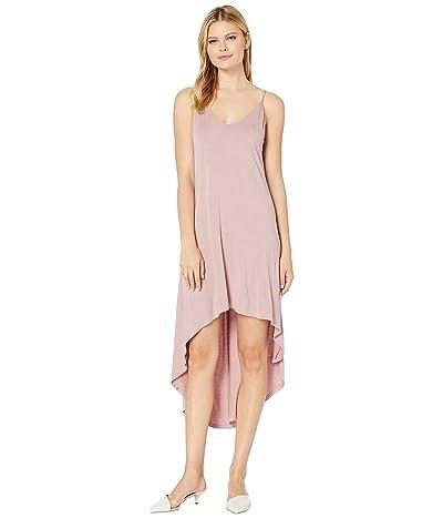 American Rose Riley Spaghetti Strap High-Low Dress (Dusty Pink) Women