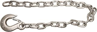 Buyers Products 3/8x22 Inch Class 4 Trailer Safety Chain with 1 Inch Forged Slip Hook-30 Proof