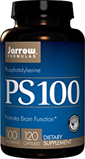 Jarrow Formulas Ps 100, Promotes Brain Function, 100 Mg, 120 Capsules