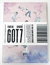 GOT7 - FLIGHT LOG : DEPARTURE [Rose Quartz Ver.] CD + 100p Photobook + Official Photocard + Folded Poster + GOT7 Postcard + Sticker + Extra Photocard