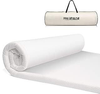 Heipard マットレス セミダブル シングル 高反発 敷布団 新世代健康ベットマット 120*200*5cm 寝返りサポート 快適睡眠 抗菌防臭 防ダニ 高密度ウレタンマット 睡眠改善 カバー洗える 収納袋付き 2年間品質保証