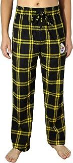 PIT STEELERS MENS Plaid Lounge/Pajama Pants Multicolour(Regular & Plus) Size