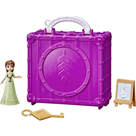 Disney's Frozen 2 Pop Adventures Family Game Night Pop-Up Playset with Handle, Including Anna Doll, Toy Inspired by Disney's Frozen 2