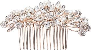 Best pearl hair comb wedding Reviews