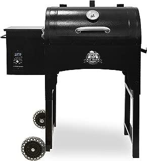 PIT BOSS PB440TG 440 sq in Portable Wood Folding Legs Pellet Grill, Black