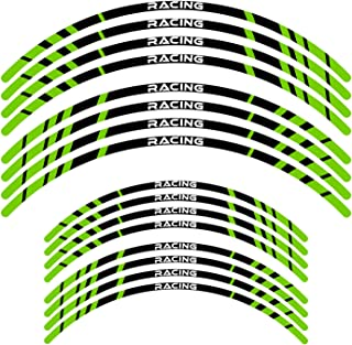 Yellow KETABAO MX Bike Rim Tape A01 Decals Stickers Protector 21 18 inch For Yamaha YZ125X YZ250X YZ250FX YZ450FX 20