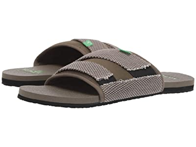 Sanuk Beer Cozy 2 Slide (Dark Olive) Men