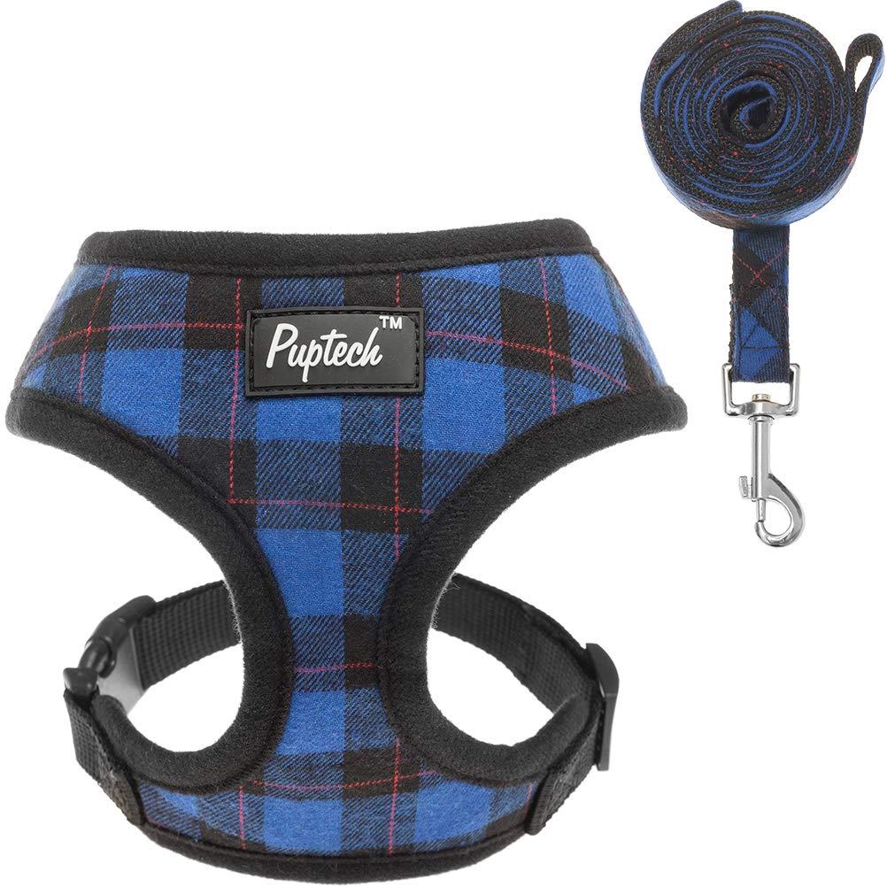 PUPTECK Soft Mesh Harness Leash