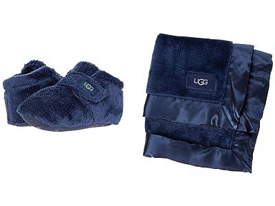 UGG Kids Bixbee and Lovey (Infant/Toddler) (Navy) Kids Shoes