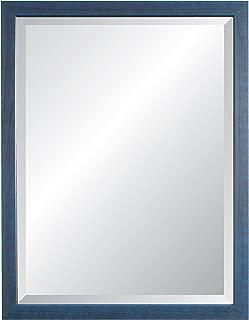 Alpine Mirror & Art Nantucket II Blue Wall Mirror, 27