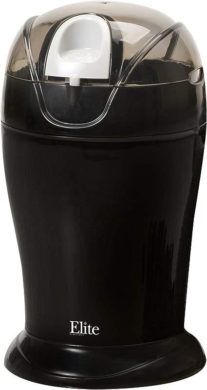 Elite Cuisine ETS 630B Maxi Matic 150 Watt 4 Ounce Coffee Grinder Black