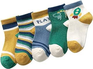 colore casuale barsku 4 paia di calzini ricamati da donna Kawaii Expression calzini divertenti alla caviglia calzini da donna estivi in ??cotone