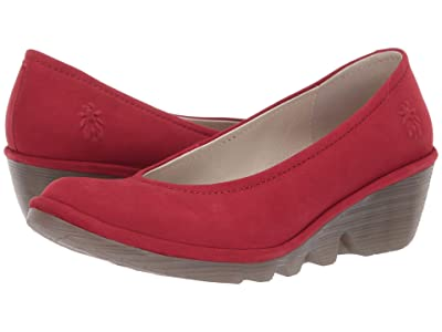 FLY LONDON Pump (Lipstick Red Cupido) Women