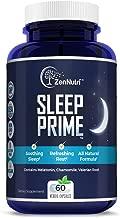 Natural Premium Sleep Aid   Herbal Stress, Anxiety & Insomnia Relief Supplement Pills   Relaxing & Calming Formula   Melatonin, Chamomile, Valerian Root - 60 Non-Habit Forming Veggie Caps
