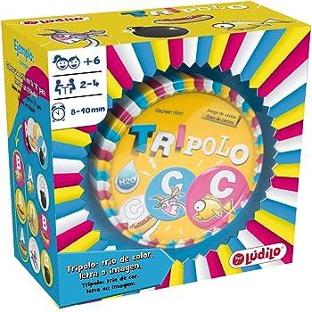 Lúdilo Tripolo, educativo, desarrollo de la concentración, juego ...