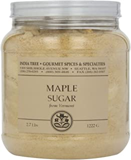 India Tree Maple Sugar, 2.7 lb