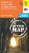 ORDNANCE SURVEY Explorer OL 41 Active D Forest of Bowland Map