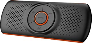 Bluetooth Handsfree Car Speaker, Upgraded Wireless in-Car Speakerphone Visor Clip Stereo Music Player Car Kit for Handsfre...