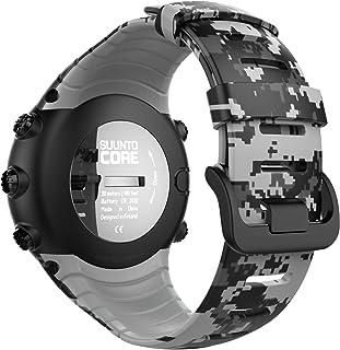 MoKo Banda de Reloj para Suunto Core - [Rombo Serie] Correa Reemplazo de Silicona Suave Deportiva Pulsera de Actividad física para 5.51