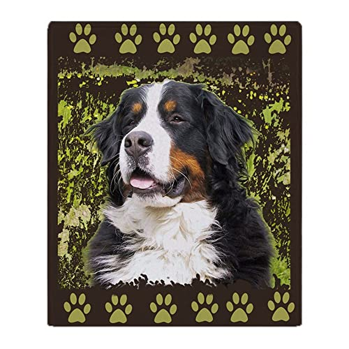 664b254166eb CafePress Bernese Mountain Dog Home Dec Soft Fleece Throw Blanket, 50