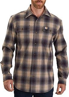Men's Original Fit Flannel Long-Sleeve Plaid Shirt