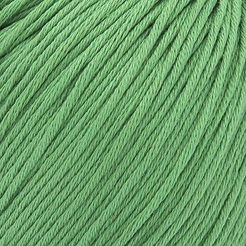 ggh Scarlett - 037 - Verde primavera - Maco algodón para tejer y hacer ganchillo: Amazon.es: Hogar