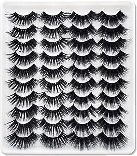 20 Pairs Faux Mink Hair False Eyelashes Natural Eyelashes Extension 7