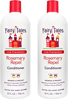 Fairy Tales Rosemary Repel Daily Kids Hair Conditioner for Lice Prevention - 32 oz - 2 Pack