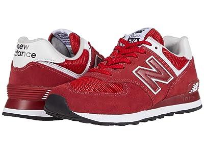 New Balance Classics ML574v2 (Neo Crimson/Team Red) Men