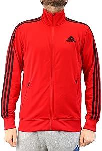 Adidas Men's Post Game Track Retro Jacket Medium Red