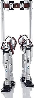 Herramienta zancos de aluminio para alturas de 61 x 102 altura ajustable para pintores cintas de pintura para placas de yeso laminado