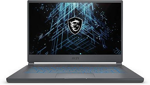 "MSI Stealth 15M Gaming Laptop: 15.6"" 144Hz FHD 1080p Display, Intel Core i7-11375H, NVIDIA GeForce RTX 3060, 16GB, 512GB SSD, Thunderbolt 4, WiFi 6, Win10, Carbon Gray (A11UEK-009)"