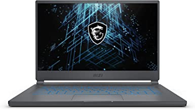 "MSI Stealth 15M Gaming Laptop: 15.6"" 144Hz FHD 1080p Display, Intel Core i7-11375H, NVIDIA GeForce RTX 3060, 16GB, 512GB S..."