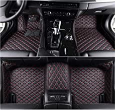 Kaifeng for Dodge Charger 2011-2017 Car Floor Mats Custom Fit All-Weather 3D Covered Car mat Carpet FloorLiner Floor Auto Mats (Black red, 2011)