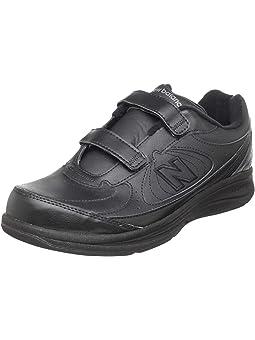 Leather New Balance Black Shoes + FREE