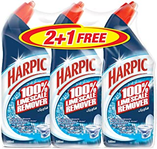 Harpic Original Toilet Cleaner - Pack of 3 Pcs (3 x 500ml)