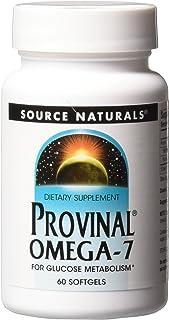 Source Naturals Provinal Omega-7 Metabolic Glucose Support - 60 Softgels